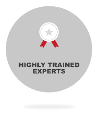 high trained experts