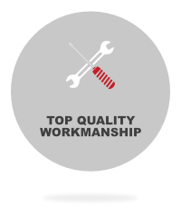 top quality workmanship